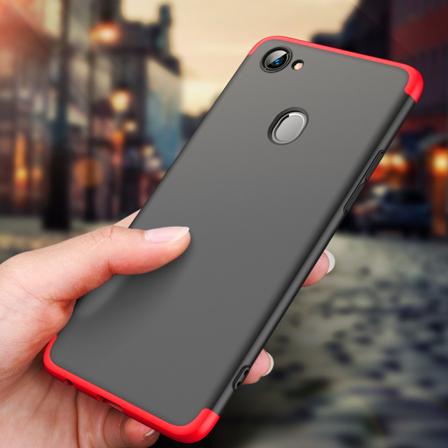 size 40 61f47 ee52c US $3.49 30% OFF|GKK Original Case for Oppo F7 Case 360 Full Protection  Anti knock 3 In 1 Ultra Slim Hard Cover for Oppo F7 Cover Coque Fundas-in  ...