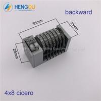 5 Pieces Full Steel 6 Digits Numbering Machine Backward For Letterpress Heidelberg Windmill 4X8 Cicero