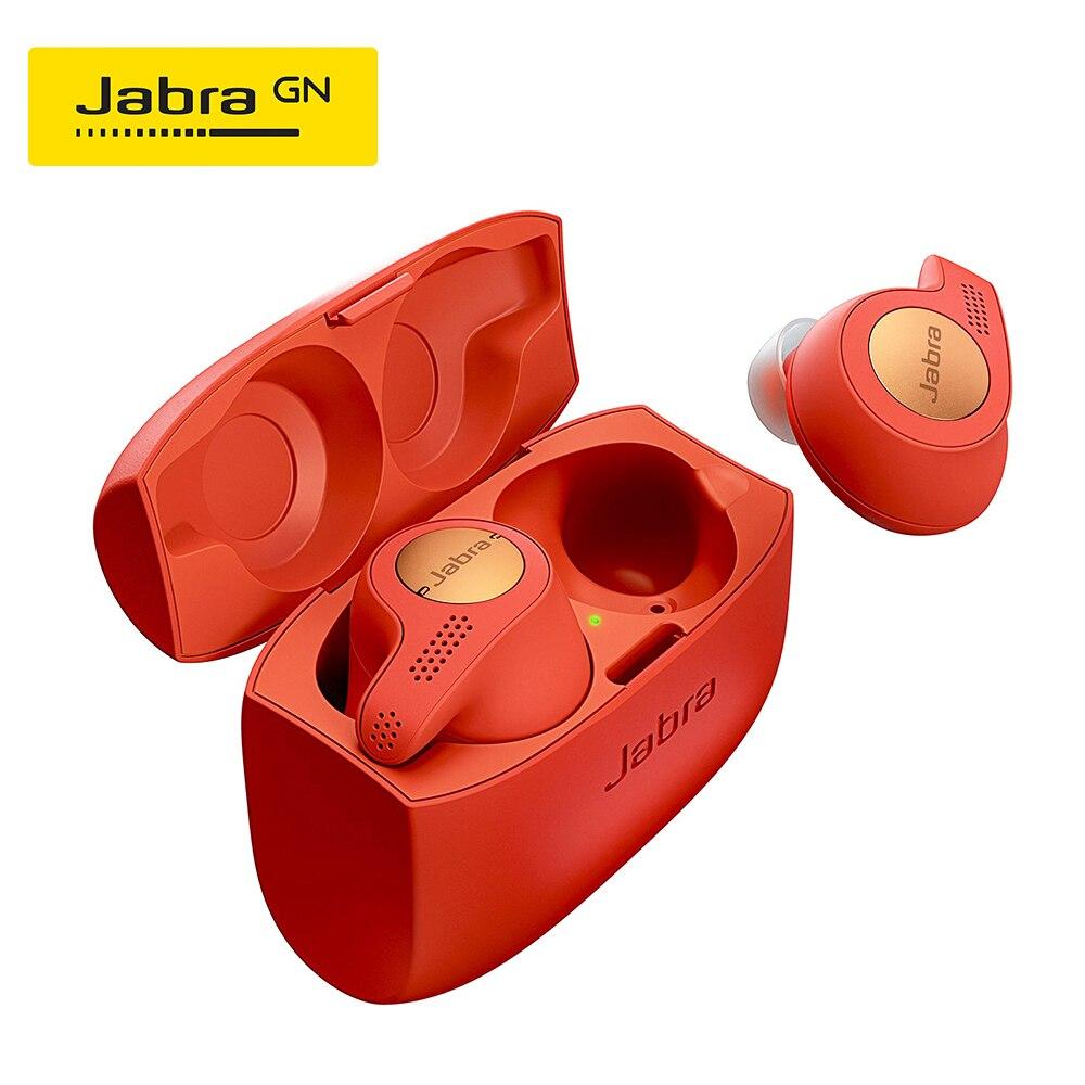 Jabra Elite Active 65t Alexa Enabled True Wireless Sports Earbuds With Charging Case Copper Red Bluetooth Earphones Headphones Aliexpress
