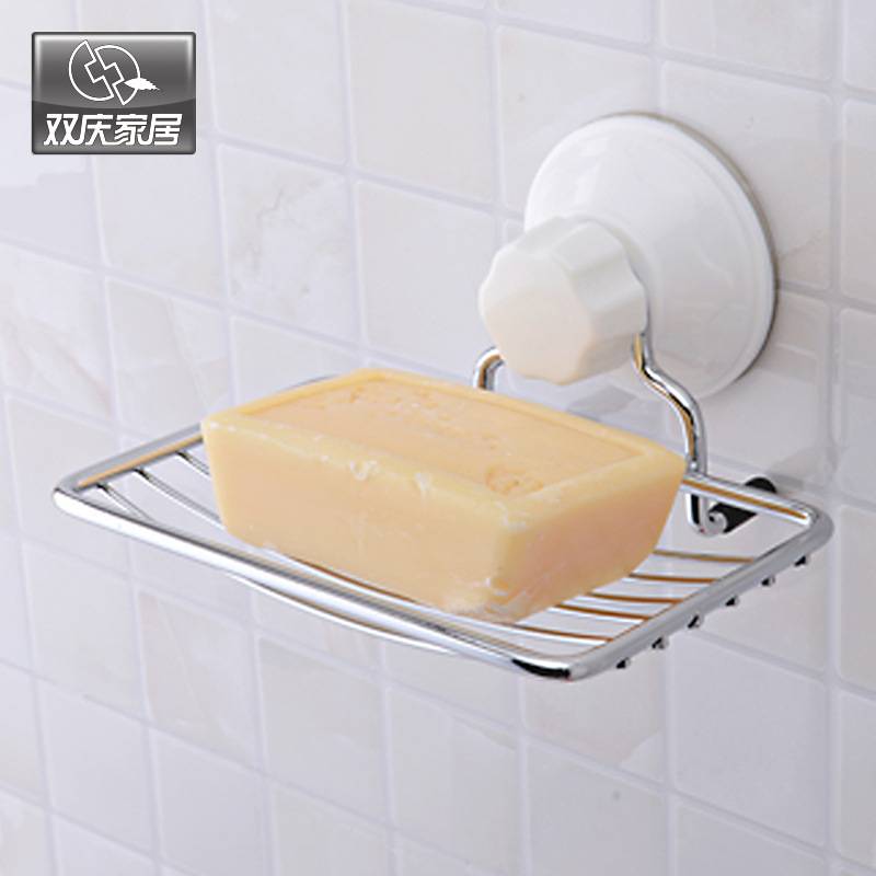 Toilet Soap Rack Soap Dishes Strong Vacuum Suction Cup