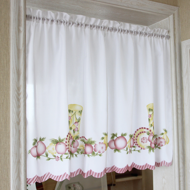 Appealing Kitchen Curtains Fruit Design Gallery - Best Ideas ...