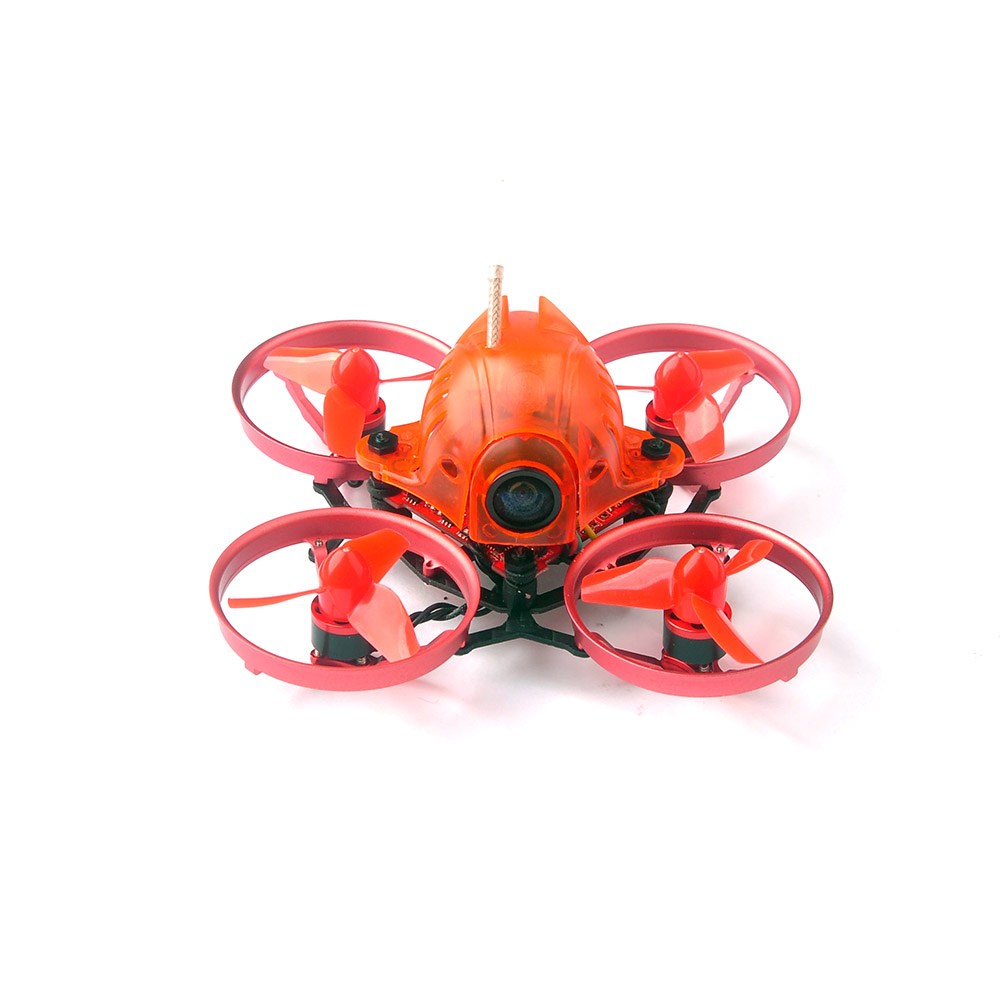 JMT Mini Snapper6 1S Brushless Whoop Racer Drone BNF 5.8G 48CH 700TVL Camera F3 Built-in OSD 65mm Micro FPV Racing RCMulitcopter jmt leader 120 120mm carbon fiber diy mini fpv racing quadcopter receiver drone camera osd f3 brushless bnf combo set