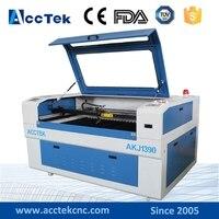 ג 'ינאן מכונת לייזר CO2 diy AccTek חיתוך עץ/אקריליק/MDF/דיקט
