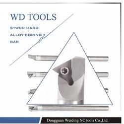 Węglik spiekany C10M STWCR11 60 stopni zewnętrzne narzędzie tokarskie sklepy fabryczne dla tbg601 włóż tokarkę  wytaczadło cnc  maszyna w Narzędzia tokarskie od Narzędzia na