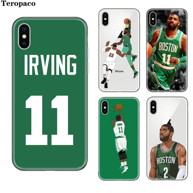 the latest f0181 85735 US $1.99 |For iphone 7 Case NBA Basketball Star Kyrie Irving Soft Silicone  Phone Case For Apple iphone 5S SE 6 6S Plus 7 8Plus X Cover-in Fitted Cases  ...
