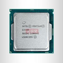 Процессор Intel Pentium G4400, 3 Мб кэш-памяти, 3,3 ГГц, LGA 1151, двухъядерный процессор для настольных ПК