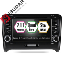 Isudar Car Multimedia Player Car Radio GPS Android 7 1 2 Din For Audi TT 2006