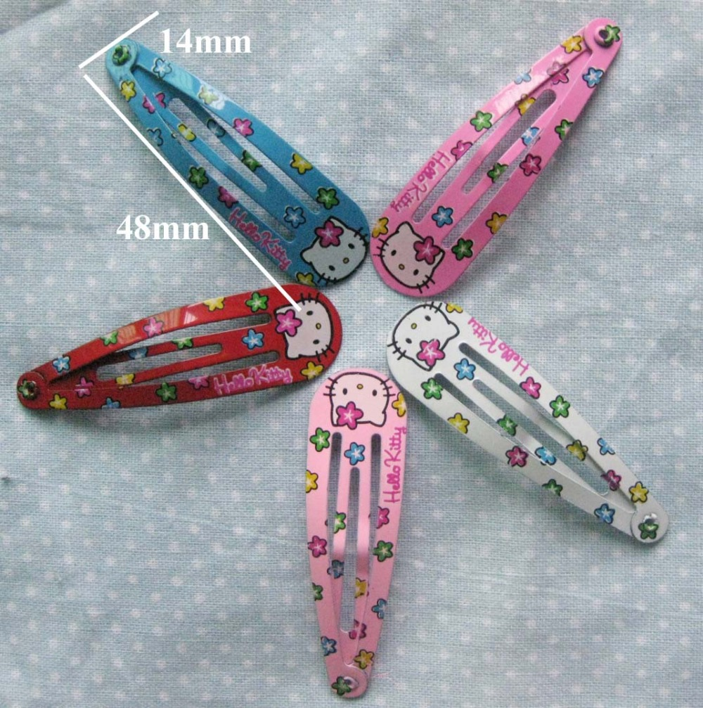 Hello Kitty Infant Toddle hair clip 2 cards children accessories HS0024 Cartoon hairpins car accessories hello kitty cartoon car stickers warning with children kt133 free shipping