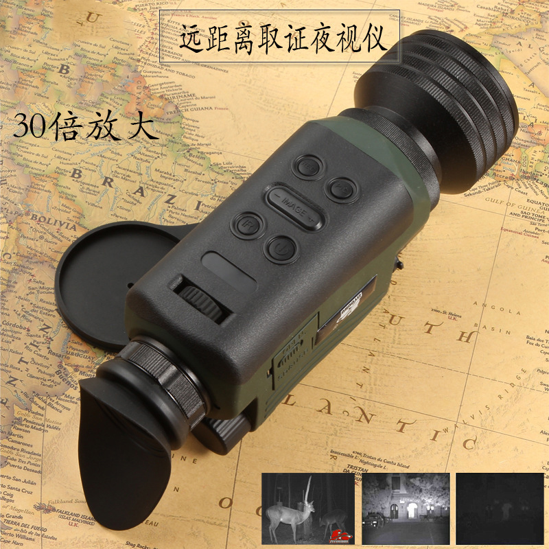 6 30X HD Digital Night Vision Device SD Card Storage Can Take Photos and Video Monocular Night Vision scope Infrared Telescope in Night Visions from Sports Entertainment