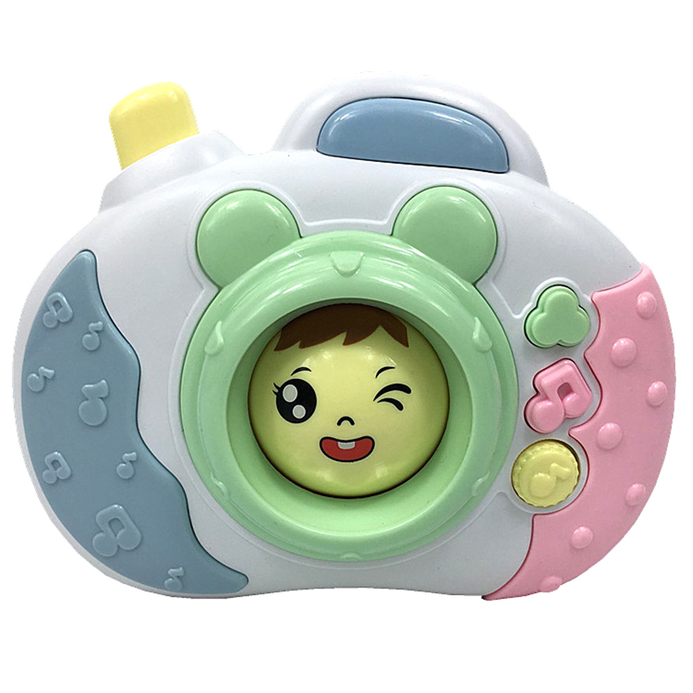 Children Cute Face Change Camera Music Phone Baby Early Education Story Machine Parent-child Interactive Exchange Learning Toys