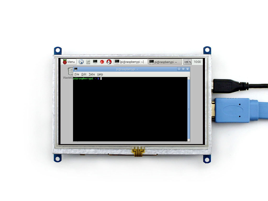 Raspberry pi 3 touch screen dispaly 5 inch Touch Screen LCD HDMI (B) interface, supports various systems 3 5 inch touch screen tft lcd 320 480 designed for raspberry pi rpi 2