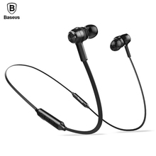 Baseus Magnetic Bluetooth Earphone Wi-fi Stereo Bass Earbuds Sports activities Headset With Mic For Xiaomi iPhone fone de ouvido