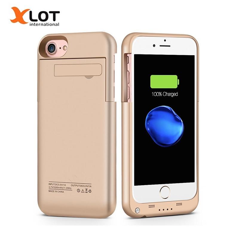 bilder für Ladegerät Fall für iPhone 6 6 s 7 Plus 3200/4000 mAh power Fall Ultra Slim Externe Pack backup-ladegerät fall für iphone