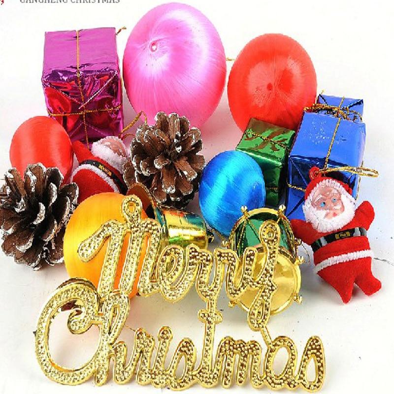 Christmas Tree Decorations Aliexpress: Mixed Style Christmas Tree Ornaments Various Shape Xmas