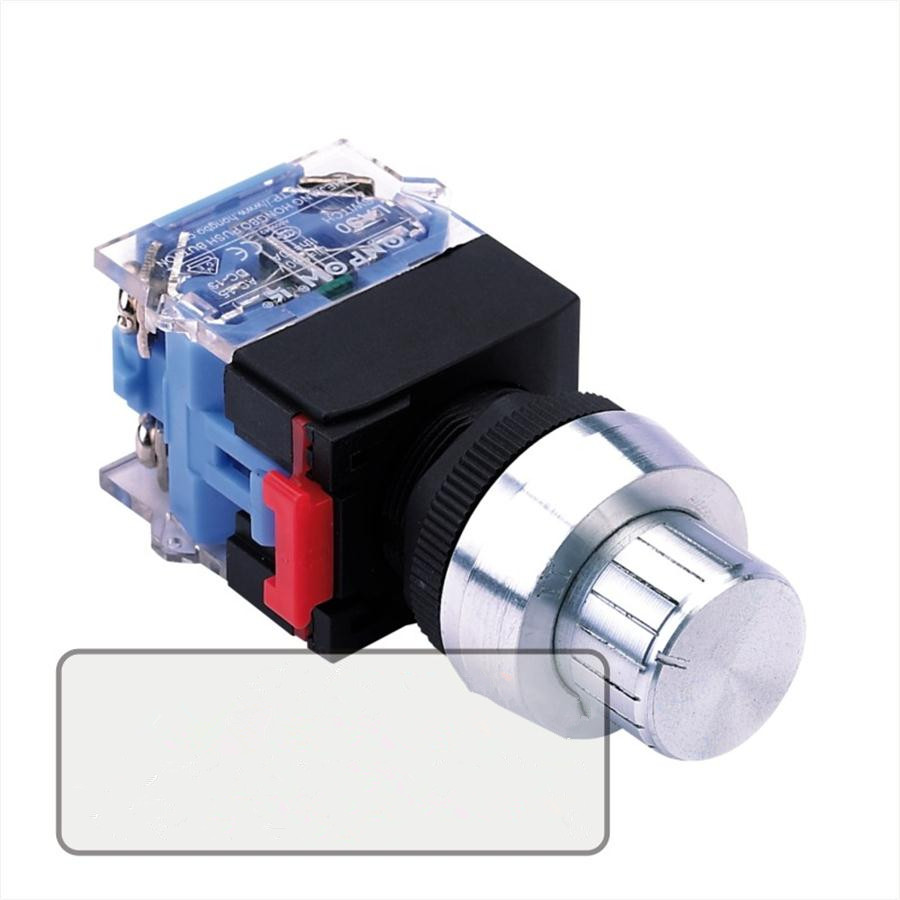 C type knob button switch 22mm for machine or equipment,6pcslot