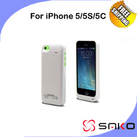 4200 Mah 220mAh Rechargeable Backup External Battery Charger Power Bank Powerbank Case Cover For IPhone 5