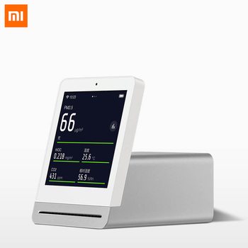 Xiaomi Mijia IPS Screen Mobile Touch Operation ClearGrass Air Monitor Retina Touch Indoor Outdoor Air Detector Work by Mijia APP