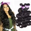 ALI Brazilian Body Wave 4 Bundles Grace Hair Brazilian Virgin Hair Body Wave 7A Unprocessed Brazilian Human Hair Weave Bundles