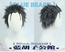 Perruque de Costume de Cosplay résistante à la chaleur, noire, grise, Re: Life in a Different World from Zero Subaru Natsuki