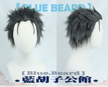 Re: Life in a Different World from Zero Subaru Natsuki Short Black Grey Heat Resistant Cosplay Costume Wig