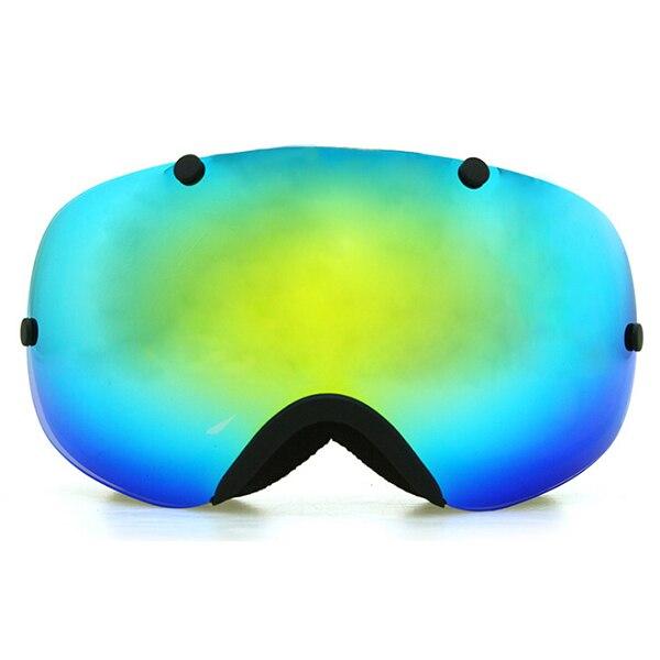 Copozz Polarized ski goggles 2 double lens UV400 anti-fog big ski glasses skiing snowboarding goggles