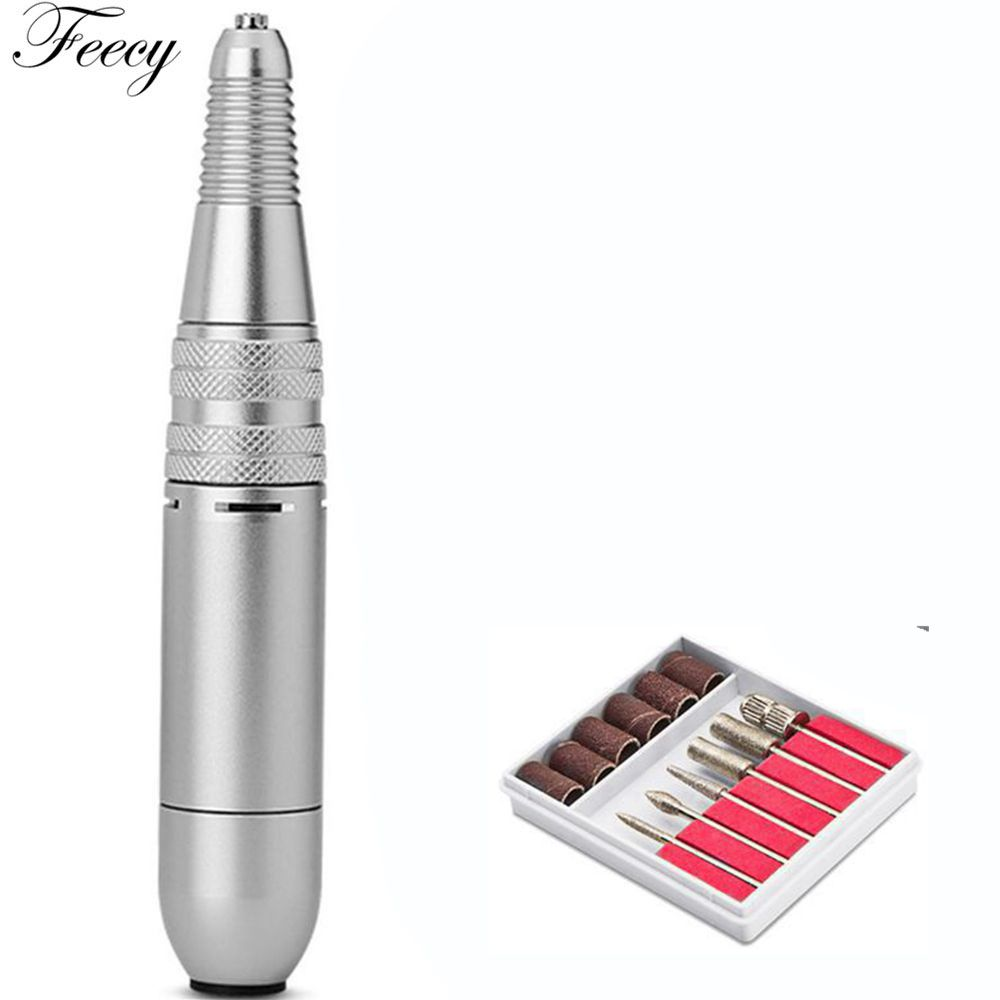 Nail Drill Set Kit Professional 20000RPM Electric Manicure Machine Portable Handpiece Nail File Grinder Manicure Pedicure ToolsNail Drill Set Kit Professional 20000RPM Electric Manicure Machine Portable Handpiece Nail File Grinder Manicure Pedicure Tools