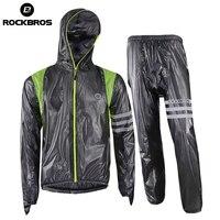 Rockbros Cycling Set Waterproof Rainproof Cycling Clothing Mountain Bike Jersey Pants Bicycle Rain Jacket Mtb Men