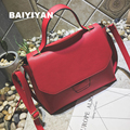 2016 New Fashion Women Messenger Bags PU Leather Women's Shoulder Bag Crossbody Bags Casual Famous Brand Popular Ladies Handbags