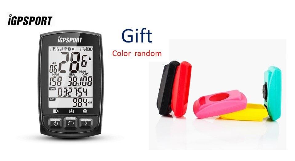 IGPSPORT IGS50E ANT + GPS Bluetooth vélo sans fil chronomètre compteur de vitesse vélo vélo ordinateur Support étanche