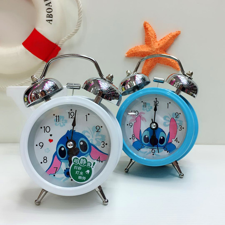 Princess Mickei Dale And Chip LED Color Changing Digital Alarm Clock