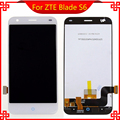 High Quality For ZTE Blade S6 Lcd display Touch Screen 1280x720 HD 5.0inch replacement for ZTE Blade S6 Cellphone white