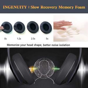 Image 5 - Wantek פעימות החלפת אוזן רפידות כרית תואם עם פעימות Studio2 ו Studio3/Wired B0500/אלחוטי B0501 אוזניות, שחור