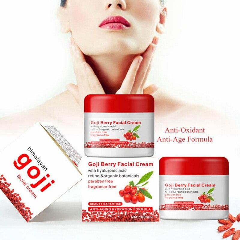 Health Beauty Cream Portable Home Health Cream Goji Berry Facial Cream