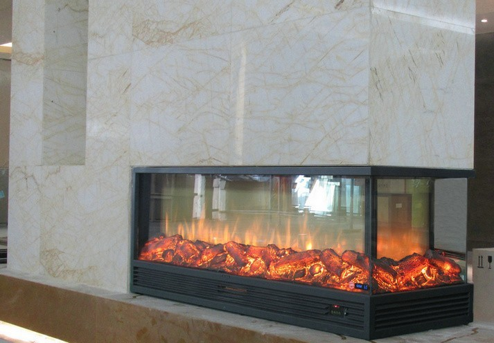 Sided Electric Fireplace - Two Sided Electric Fireplace Insert - Best Fireplace 2017