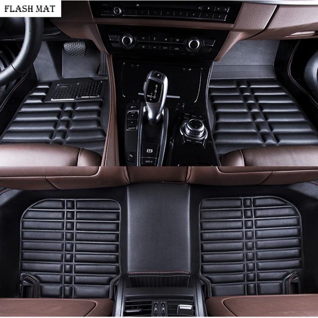 custom made car floor mats for vw polo accessories vw passat b5 b6 golf vw touran tiguan jetta Auto accessories car mats