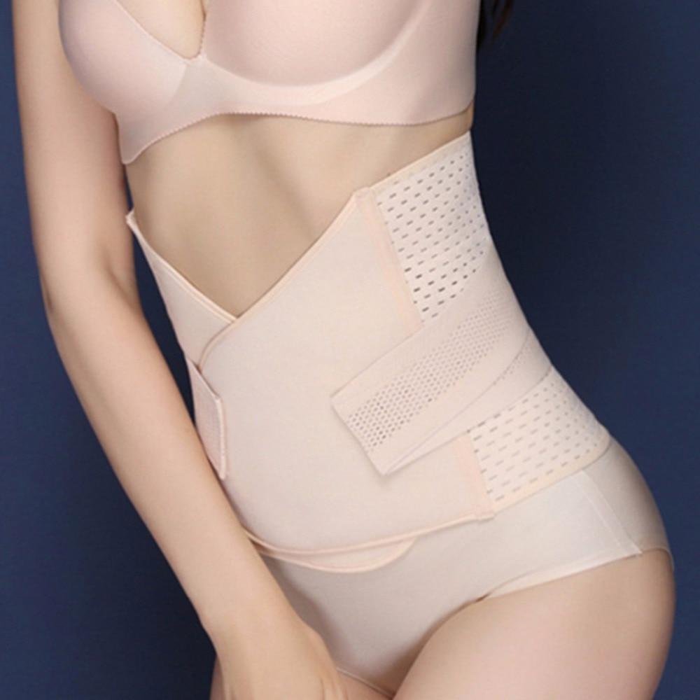 Breathable Maternity Postnatal Belt Belly Band Slim Shapers Bandage Underwear Lingerie Waist Corset For After Pregnancy Women