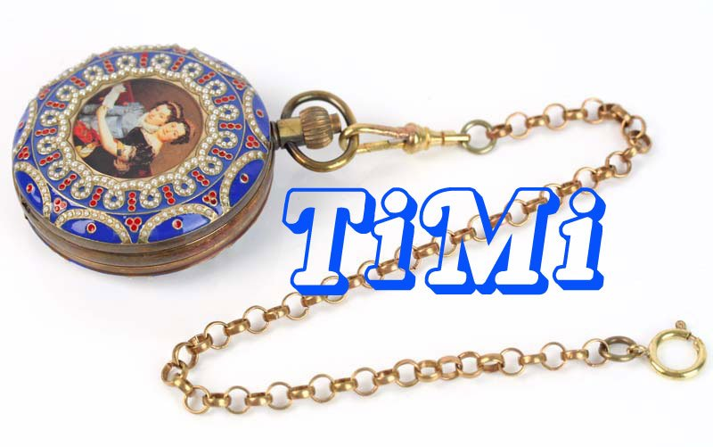 wholesale OLD 55mm ARCHAIZE Palace COPPER PAINTING MECHANICAL POCKET WATCH freeship wholesale unique silver wood roma mechanical pocket watch mi dial freeship