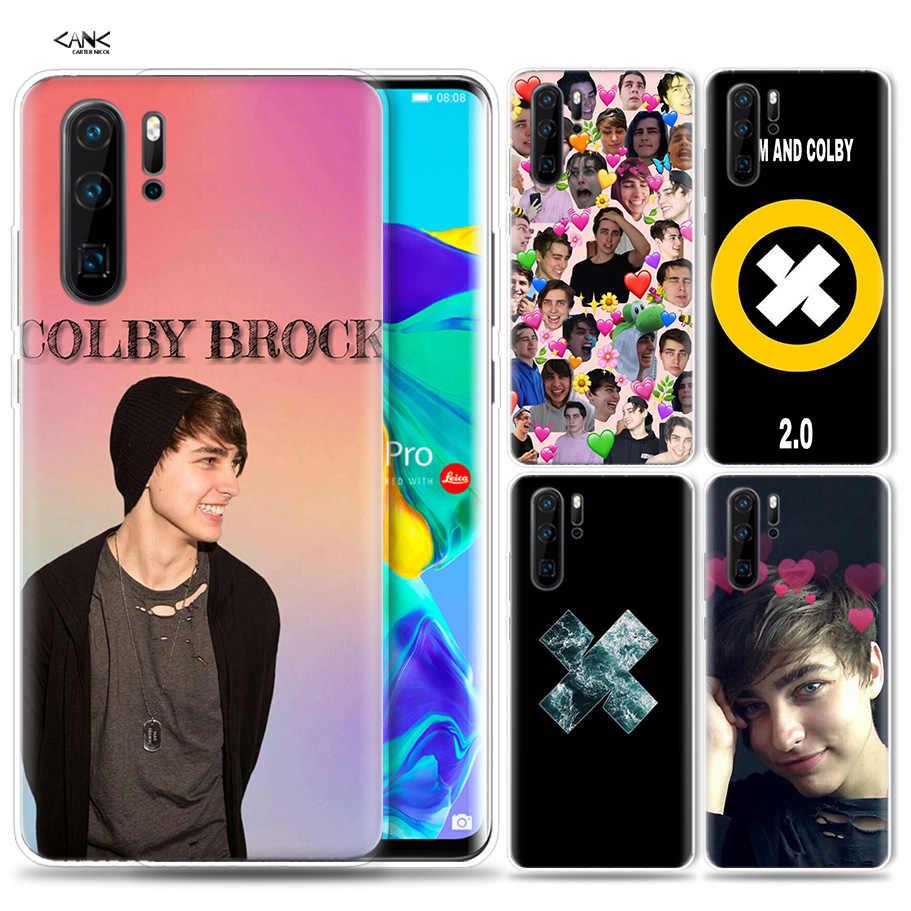 Case for Huawei P30 P20 P10 P9 Mate 10 20 Lite Pro Mobile Cell Phone Bag P Smart Z 2019 Plus Sam Colby P8 P30Pro P20lite P10Lite