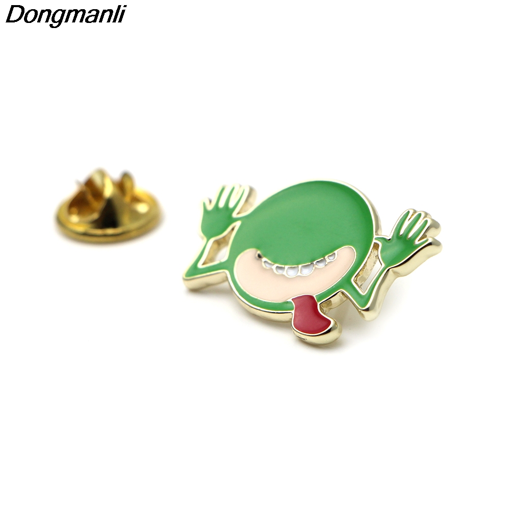 P2369 Dongmanli 20pcs/lot wholesale The Hitchhikers Guide to the Galaxy Metal enamel pin brooch badge Jewelry