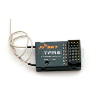 FrSky TFR6 7Ch FASST Compatible Receiver For RC Multicopter