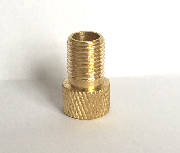 Pcs brass presta tire valve adapters for road bike fixed