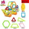 Camión diseñador mini bloques de construcción magnética 39 unids ladrillos enlighten juguetes de construcción para niños juguetes educativos plástico creativo