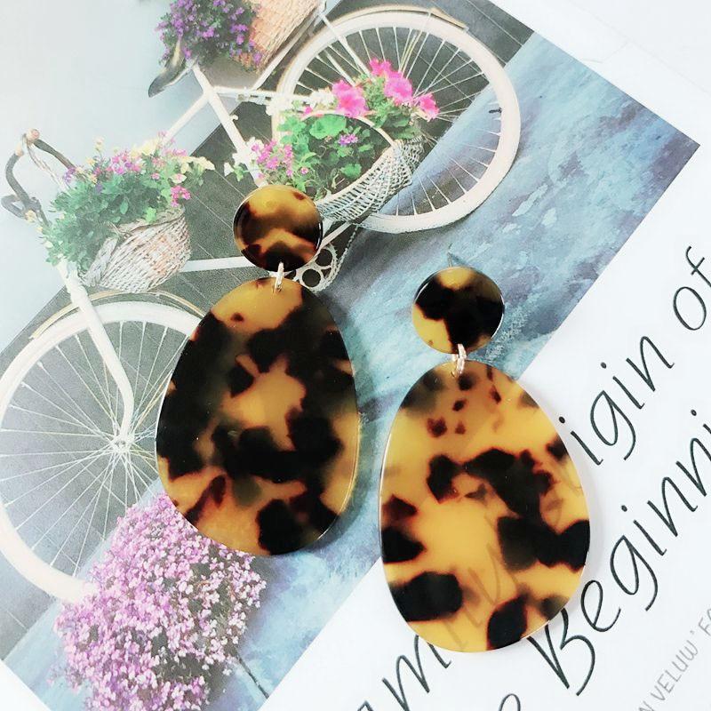 IMG_4428  Free Delivery New Design Tortoise Resin Style Elegant Earring HTB1T6tOblsmBKNjSZFFq6AT9VXaj