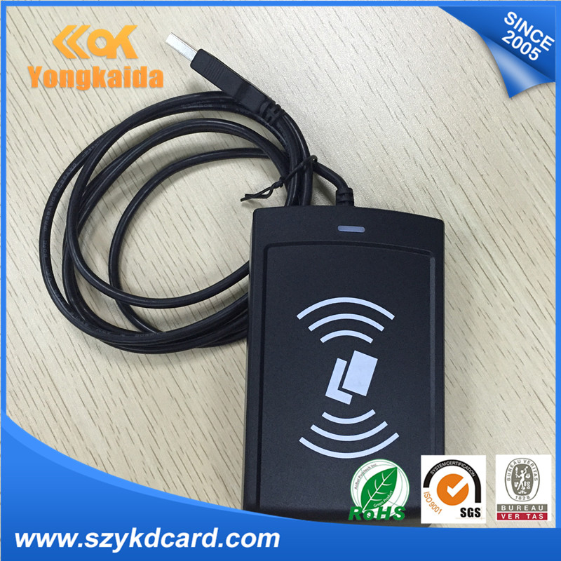 цена YongKaiDa rfid reader writer 15693 nfc reader ISO 14443A for nfc card