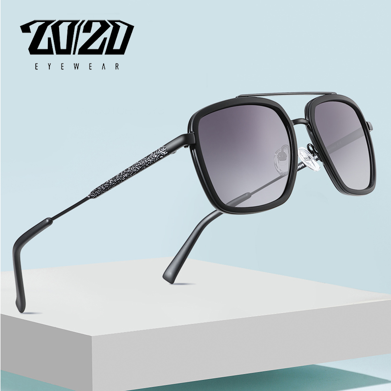 20/20 Brand Design Polarized Sunglasses Men Driving Printing Temple Men's Glasses Male Eyeglasses Goggles UV400 Gafas 17075