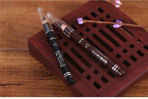 Popfeel for Liner Cosmetic Women Eye Eyeliner Makeup cartoon doll style waterproof eyeliner for makeup cosmetic pink black