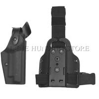 SIG SAUER P226 Tactical Fondina Mano Destra Caccia Airsoft Pistola Pistola del Piedino di Goccia Holster