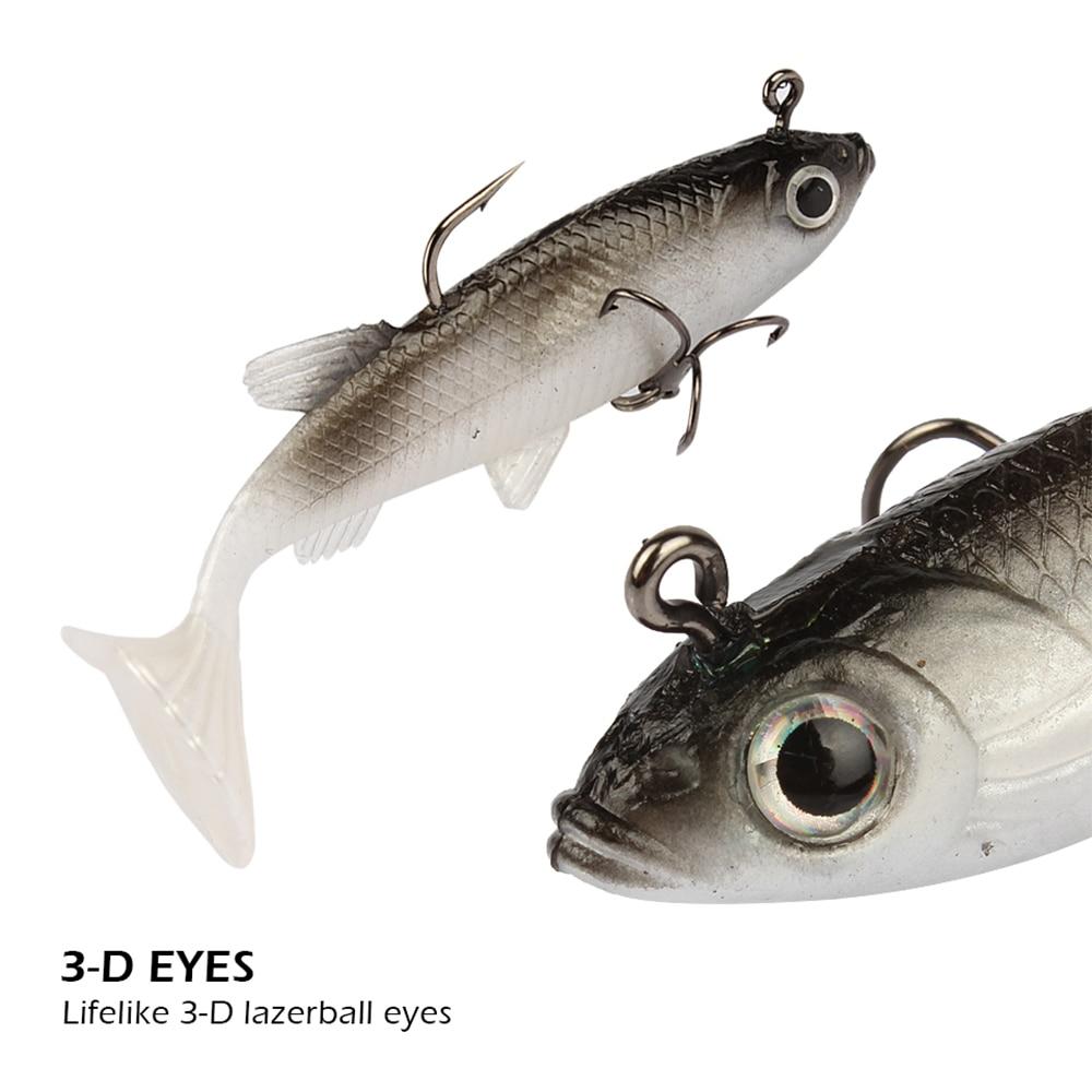 iLure 5 τεμάχια / παρτίδα μαλακό δόλωμα 8 - Αλιεία - Φωτογραφία 3