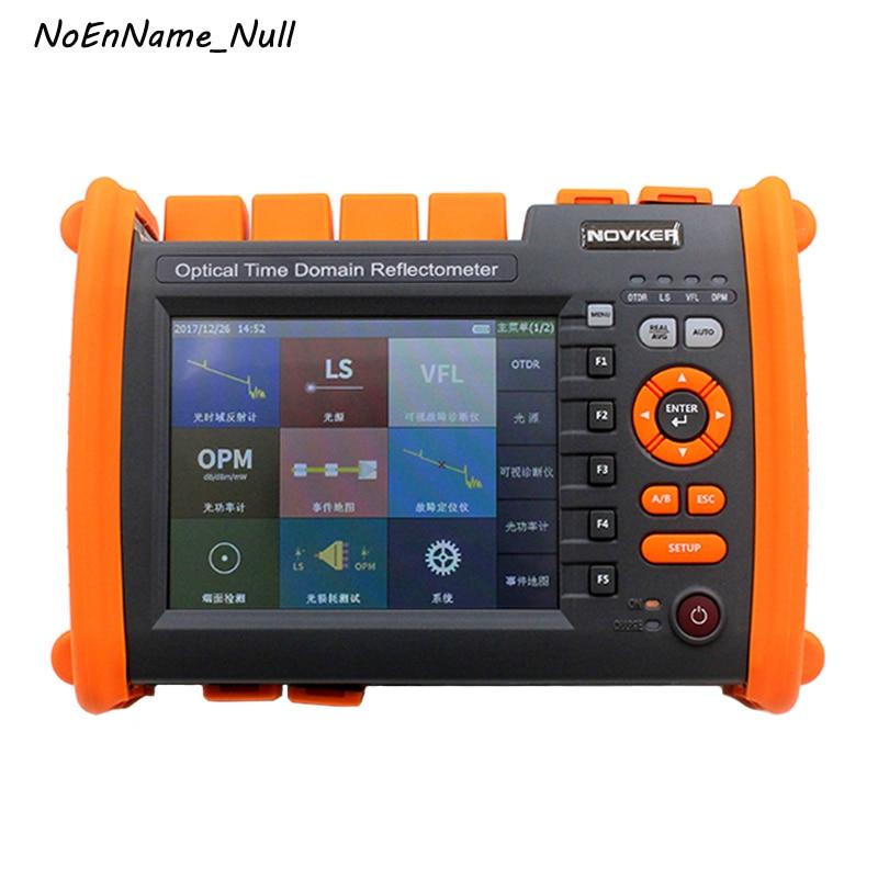 120 km NK5600 OTDR fibra ptica 1310/1550nm 35/33dB intégré 5 mW VFL, OPM, LS, écran tactile SM réflectomètre optique du domaine temporel