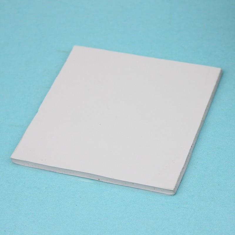 2 Pcs Gdstime White 100x100x4mm Thermal Pad Silicone Heatsink Cooling Conductive GPU CPU Chipset 100mm x 4mm Thickness 100mmx100mmx0 5mm gpu cpu heatsink cooling thermal conductive silicone pad for graphic cards chips bridge memory chipset